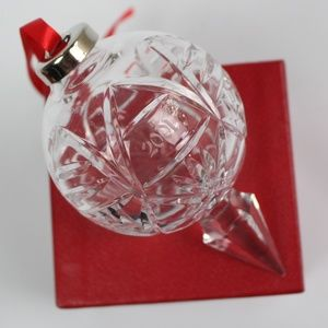 Waterford 2001 10th annual ball ornament christmas